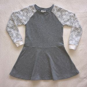 GAP Lace-sleeved Dress S